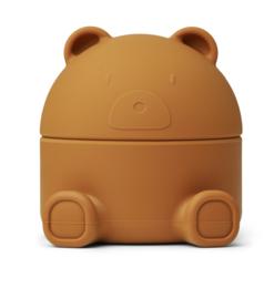 Liewood Bewaardoos Murphy Treasure Box Mr Bear - Mustard