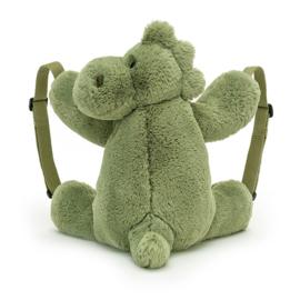 Jellycat Rugzak Dino - Huggady Dino Backpack