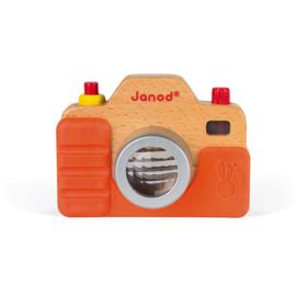Janod Foto Camera met Geluid - Oranje