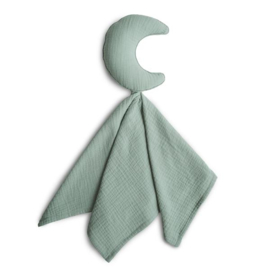 Mushie Knuffeldoek Lovely Maan - Moon Roman Green