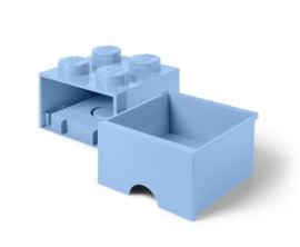 Lego Opbergbox met lade Brick 4 - Roze