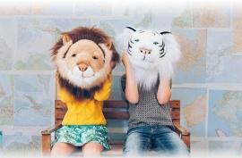 Wild and Soft Dierenkop - Leeuw