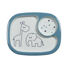 Done by Deer Yummi Mini Vakjesbord Dreamy Dots - Blauw (6m+)