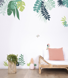 Lilipinso Tropica Poster - Papegaai Groen (P0256)