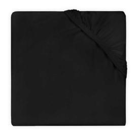 Jollein Hoeslaken Double Jersey - Zwart (60 x 120 cm)