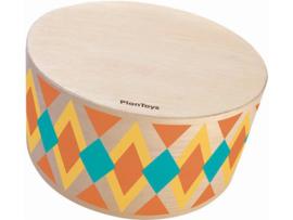 Plantoys Houten Trommel Ritme Box - Rond