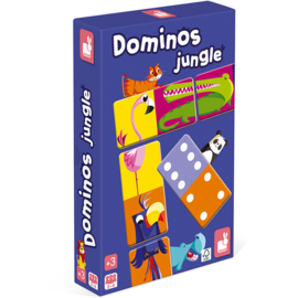 Janod Spel -  Domino Jungle +3jr