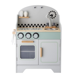 Bloomingville Houten Keuken Play Set Kitchen - Grijs
