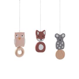 Kids Concept Babygym Houten Speeltjes - Edvin (3 stuks)