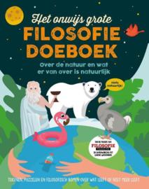 Uitgeverij Fontein Het Onwijs grote Filosofie Doeboek +8jr