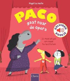 Uitgeverij Clavis Paco gaat naar de Opera - Geluidenboekje +3jr