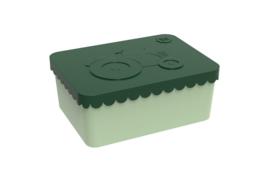 Blafre Lunchtrommel rechthoek Trekker - Donker groen/licht groen