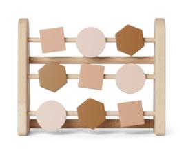Liewood Telraam Abacus Astrid - Geometric Rose Multi Mix