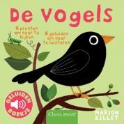Uitgeverij Clavis Geluidenboekje - De Vogels +1jr