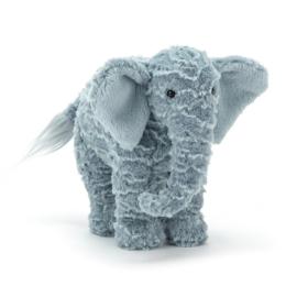Jellycat Rumples Eddy Elephant Small - Knuffel Olifant