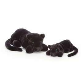 Jellycat Big Cats Paris Panther Large - Knuffel Zwarte Panter (46 cm)