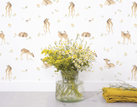 Lilipinso Oh Deer Muursticker A3 - Little Forest Animals