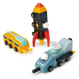 Tender Leaf Ruimtevaart Race - Space Race +3j