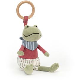Jellycat Little Rambler Frog - Riverside Rammelaar Kikker
