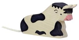Holztiger Stier (zwart) - Liggend (80001)