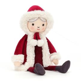 Jellycat Kerst Knuffel Kerstvrouw - Joy Christmas (32 cm)