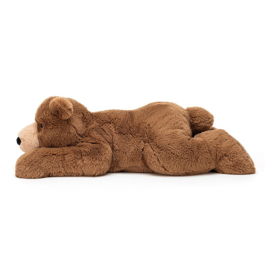 Jellycat Woody Bear Lying - Knuffel Beer (65 cm)