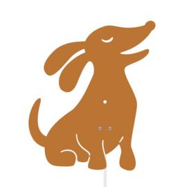 Roommate Lamp Dog - Hond Bruin