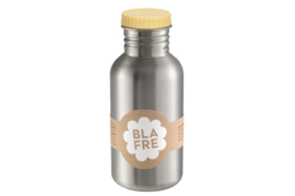 Blafre Drinkfles RVS - Licht Geel (500ml)