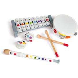Janod Confetti - Muziekinstrumenten Set Wit