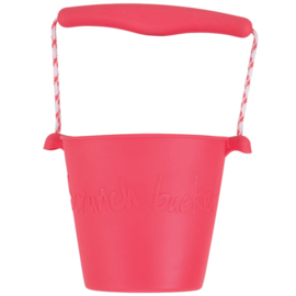Scrunch Bucket Emmer - Flamingo Pink