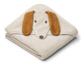 Liewood Badcape Albert Hond - Dog Sandy
