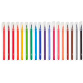 Ooly Aquarel Verf Chroma Blends Watercolor Brush Markers - 18 kleuren