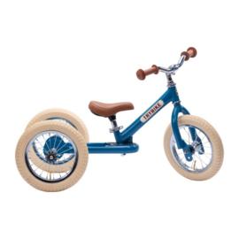 Trybike Steel 2-in-1 Loopfiets - Vintage Blauw