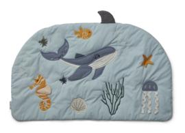 Liewood Sofie Activity Blanket Speelkleed - Sea CreatureMix