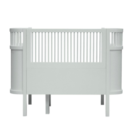 Sebra Kili Baby en Junior Bed - Misty Green
