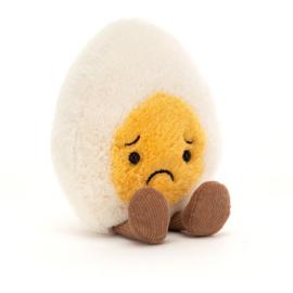 Jellycat Amuseable Boiled Egg Sorry - Knuffel Gekookt Eitje Spijt (14 cm)