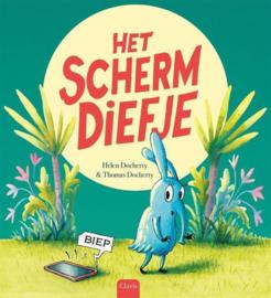 Uitgeverij Clavis Het Schermdiefje - Helen Docherty +4jr