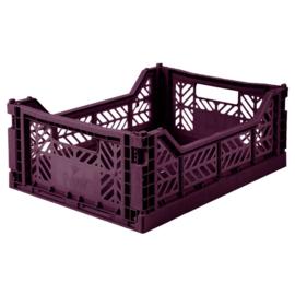 AyKasa Folding Crate Midi Box - Cherry Red
