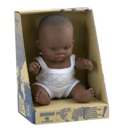 Miniland Babypop Afrikaans - Boy (21 cm)