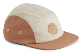 Liewood Pet Rory Cap - Sea Shell Tuscany Rose Mix (5-8 jaar)