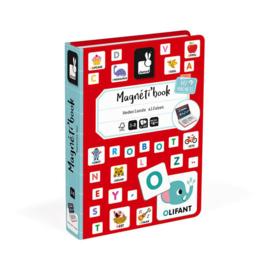 Janod Magneetboek - Alfabet Nederlandstalig +3jr