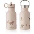 Liewood Anker Waterbottle Drinkfles - Sea Creature Rose Mix (350ml)