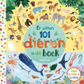 Uitgeverij Lemniscaat Er zitten 101 dieren in dit boek +3jr