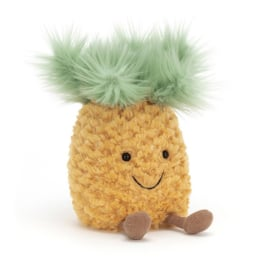 Jellycat Amuseable Pineapple Small - Knuffel  Ananas (16 cm)