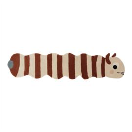 OYOY Vloerkleed Rups - Leo Larva Rug