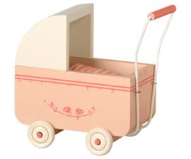 Maileg Kinderwagen Pram Micro - Powder