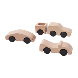 Kids Concept Car Cabriolet Aiden - Naturel