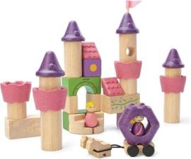 Plantoys Houten Fairy Tale Blocks - Sprookjes Blokken