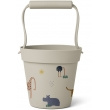 Liewood Linda Bucket Emmer - Safari Sandy Mix