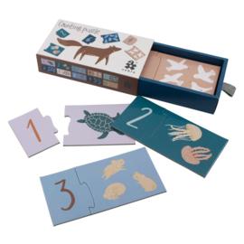 Sebra Counting Puzzle 1-10 - Seven Seas / Daydream